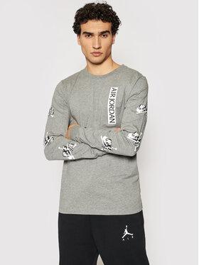 Nike Nike Marškinėliai ilgomis rankovėmis CN3504 Pilka Standard Fit
