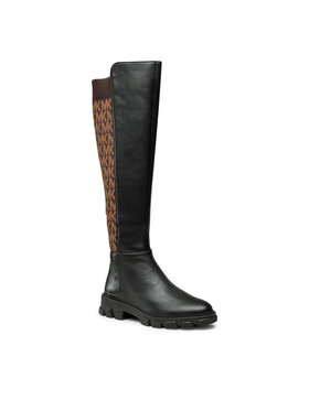 MICHAEL Michael Kors MICHAEL Michael Kors Офицерки Ridley Boot 40F1RIFB5L Черен