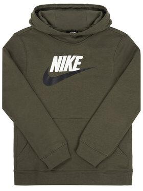 NIKE NIKE Bluză Club BV0783 Verde Standard Fit