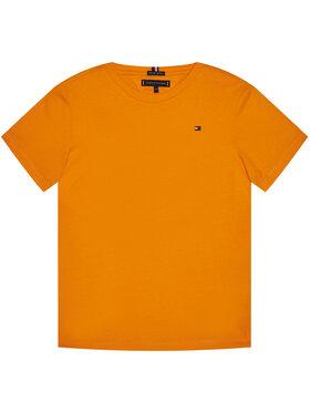 TOMMY HILFIGER TOMMY HILFIGER Marškinėliai Essential Cttn Tee KB0KB05838 D Oranžinė Regular Fit