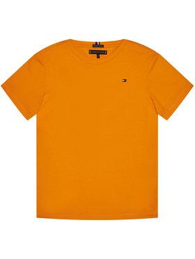 TOMMY HILFIGER TOMMY HILFIGER T-Shirt Essential Cttn Tee KB0KB05838 D Oranžová Regular Fit