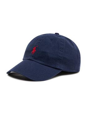 Polo Ralph Lauren Polo Ralph Lauren Kepurė su snapeliu Hat 710548524007 Tamsiai mėlyna