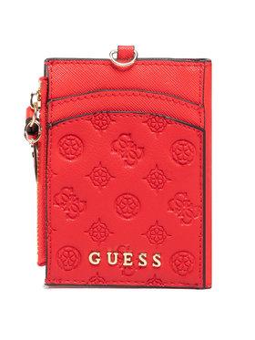 Guess Guess Pouzdro na kreditní karty Not Coordinated Keyrings RW7366 P0301 Červená