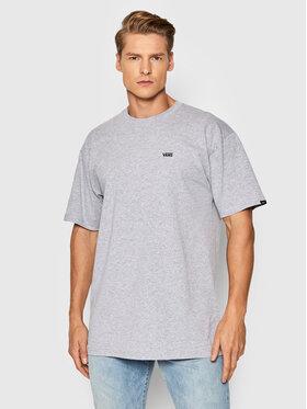 Vans Vans T-Shirt Left Chest Logo VN0A3CZE Szary Classic Fit