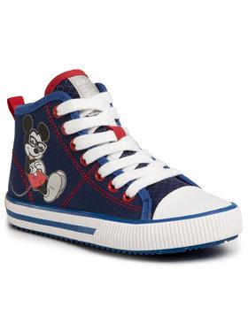 Geox Geox Sneakers aus Stoff J Alonisso B. H J022CH 00010 C4226 S Dunkelblau
