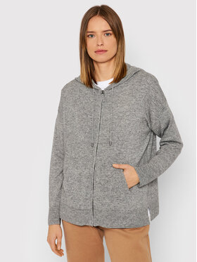 United Colors Of Benetton United Colors Of Benetton Strickjacke 1035D5006 Grau Relaxed Fit