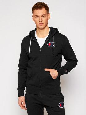 Champion Champion Sweatshirt Satin C Logo 214185 Schwarz Comfort Fit