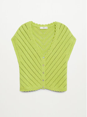 Mango Mango Bluză Polita 87059403 Verde Regular Fit