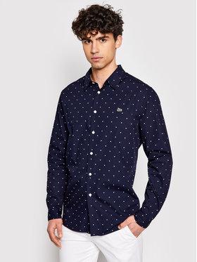 Lacoste Lacoste Koszula CH0949 Granatowy Slim Fit