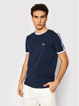 Lacoste Lacoste T-shirt TH0146 Bleu marine Slim Fit