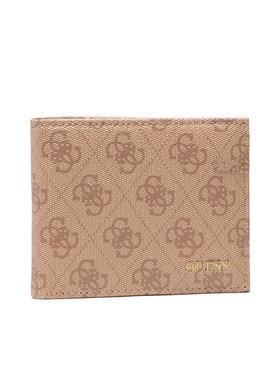Guess Guess Veľká pánska peňaženka Vezzola (4G Logo Basique) Slg SMVEZL LEA27 Béžová