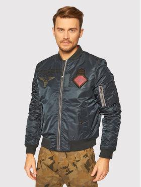 Pepe Jeans Pepe Jeans Bomber striukė Barton PM402320 Žalia Regular Fit