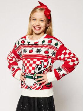 Little Marc Jacobs Little Marc Jacobs Пуловер W15529 S Червен Regular Fit