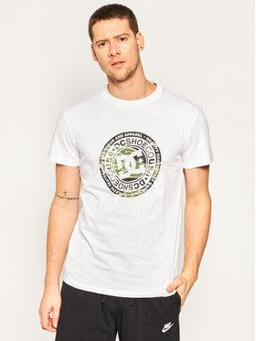 DC Tričko EDYZT04084 Biela Regular Fit