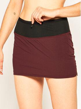 Salomon Salomon Funkcionalna suknja Sense Skort LC1280700 Tamnocrvena Regular Fit