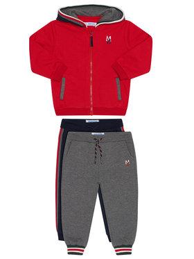 Mayoral Mayoral Комплект анцуг 2 чифта панталони и фанела 918 Цветен Regular Fit