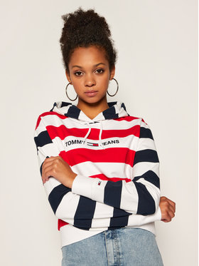 Tommy Jeans Tommy Jeans Bluză Tjw Multistripe DW0DW08544 Colorat Regular Fit