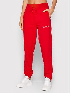 Calvin Klein Performance Calvin Klein Performance Pantaloni da tuta 00GWF1P608 Rosso Regular Fit