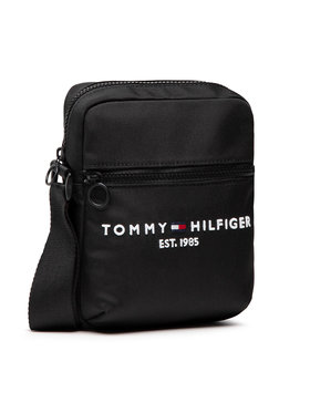 Tommy Hilfiger Tommy Hilfiger Τσαντάκι Th Established Mini Reporter AM0AM07547 Μαύρο
