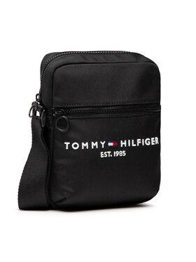 Tommy Hilfiger Tommy Hilfiger Umhängetasche Th Established Mini Reporter AM0AM07547 Schwarz