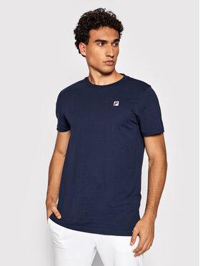 Fila Fila T-Shirt Samuru 688977 Tmavomodrá Regular Fit