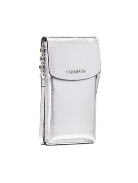 Calvin Klein Calvin Klein Kabelka Ck Must Phone Pouch Xbody K60K6083370 Stříbrná
