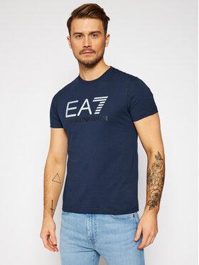EA7 Emporio Armani EA7 Emporio Armani T-Shirt 3KPT12 PJ7CZ 1554 Dunkelblau Regular Fit
