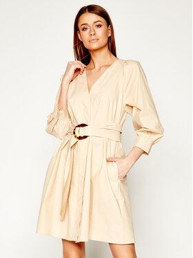 Marella Marella Košilové šaty Neve 32211302 Béžová Regular Fit