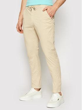 La Martina La Martina Текстилни панталони RMT011 TW374 Бежов Regular Fit
