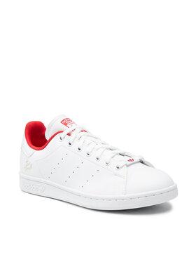 adidas adidas Boty Stan Smith H00305 Bílá
