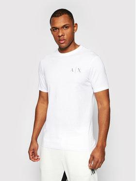 Armani Exchange Armani Exchange T-shirt 3KZTGB ZJBVZ 1100 Bijela Regular Fit