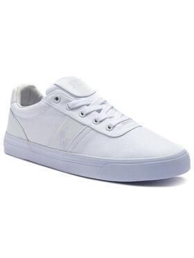 Polo Ralph Lauren Polo Ralph Lauren Sneakers aus Stoff Hanford 8161769190MA Weiß