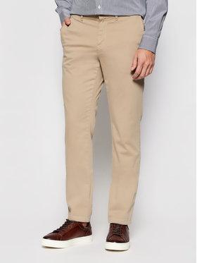 Tommy Hilfiger Tommy Hilfiger Pantalon en tissu Core MW0MW08644 Beige Regular Fit