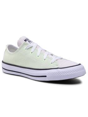 Converse Converse Tenisówki Ctas Ox Barely Vol 167647C Zielony