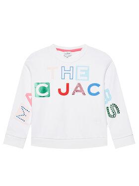 Little Marc Jacobs Little Marc Jacobs Felpa W15546 S Bianco Regular Fit