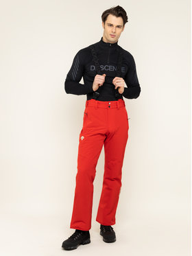 Descente Descente Lyžiarske nohavice Swiss Pant DWMOGD20 Červená Regular Fit