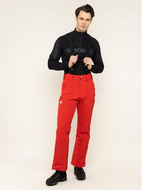 Descente Descente Pantaloni de schi Swiss Pant DWMOGD20 Roșu Regular Fit