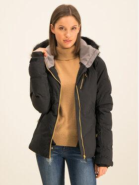 Roxy Lyžiarska bunda Snowstorm Plus ERJTJ03240 Čierna Slim Fit