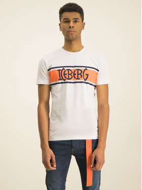 Iceberg Iceberg T-Shirt 20EI1P0F0106301 Weiß Regular Fit