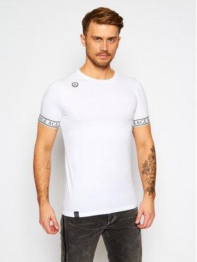 Rage Age Rage Age T-shirt Imperial 2 Bianco Slim Fit