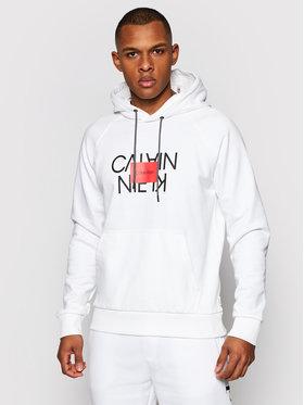 Calvin Klein Calvin Klein Pulóver Text Reversed K10K106473 Fehér Regular Fit