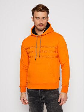 Calvin Klein Calvin Klein Bluza Graphic Embroidery K10K105720 Pomarańczowy Regular Fit