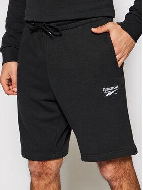 Reebok Reebok Pantaloni scurți sport Identity GL3148 Negru Slim Fit