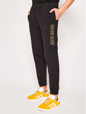 Calvin Klein Performance Calvin Klein Performance Παντελόνι φόρμας Knit Shorts 00GMS0P695 Μαύρο Regular Fit