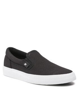 DC DC Sneakers aus Stoff Manual Slip-On ADYS300645 Schwarz