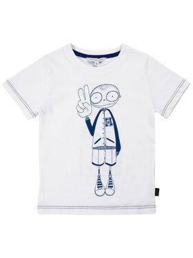 Little Marc Jacobs Little Marc Jacobs T-Shirt W25417 Biały Regular Fit
