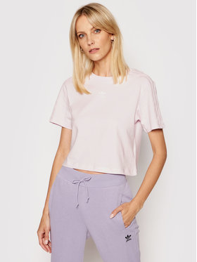 adidas adidas T-shirt Tennis Luxure Cropped H56453 Rosa Cropped Fit