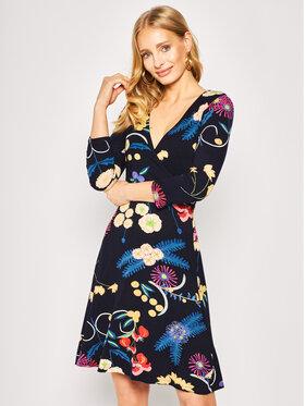 Desigual Desigual Kleid für den Alltag Vest Tropic India 20SWVK13 Dunkelblau Regular Fit