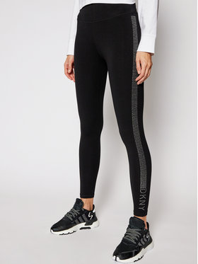 DKNY Sport DKNY Sport Leggings DKNY DP0P2300 Fekete Slim Fit