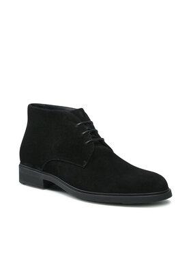 Boss Boss Šnurovacia obuv Firstclass 50439907 10212392 01 Čierna